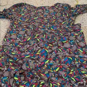 Large Lularoe Maxi dress